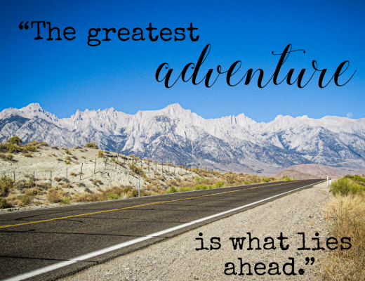 A Month of Inspirational Quotes inspired by Travel and Nature- January